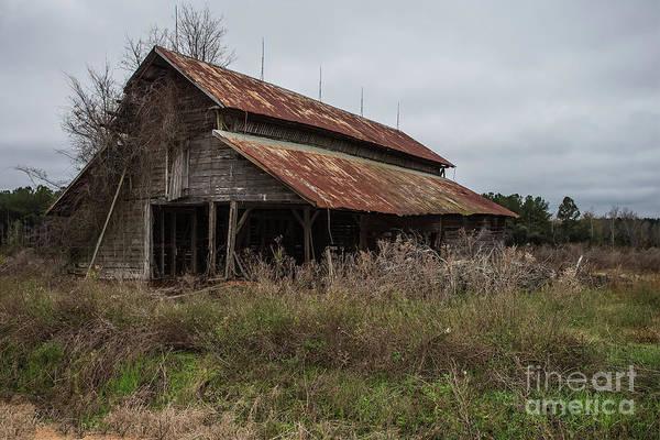 Wall Art - Photograph - Decayed Barn by Rick Mann