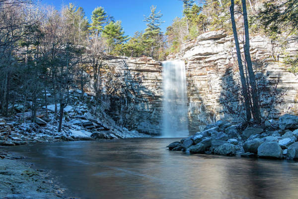 Photograph - December Morning At Awosting Falls 2018 by Jeff Severson