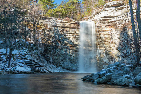 Photograph - December Morning At Awosting Falls II 2018 by Jeff Severson