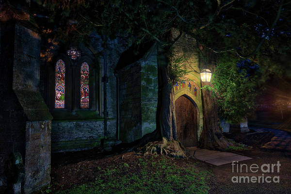 Wall Art - Photograph - December Night In  Stow by Tim Gainey