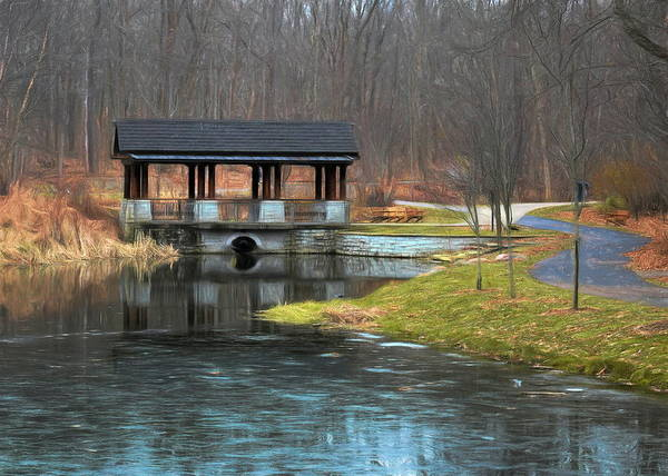 Photograph - December Pond by Jack Wilson