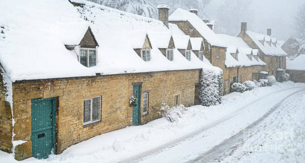 Photograph - December Snow Storm In Snowshill by Tim Gainey
