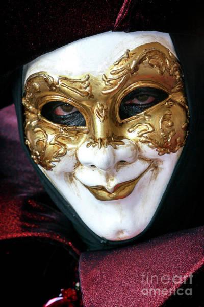 Photograph - Deception At The Carnevale Di Venezia by John Rizzuto