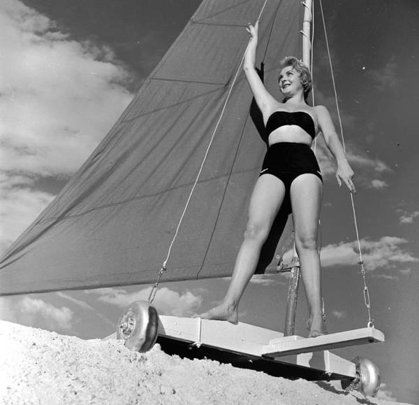 Windsurfing Photograph - Deceptive Model by George Pickow