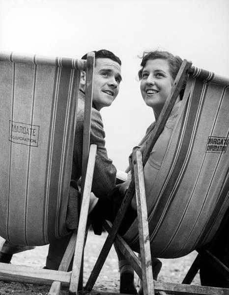 Girlfriend Photograph - Deckchair Romance by Express