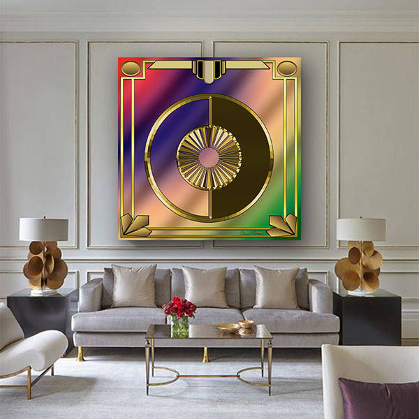 Digital Art - Deco 27 In Home by Chuck Staley