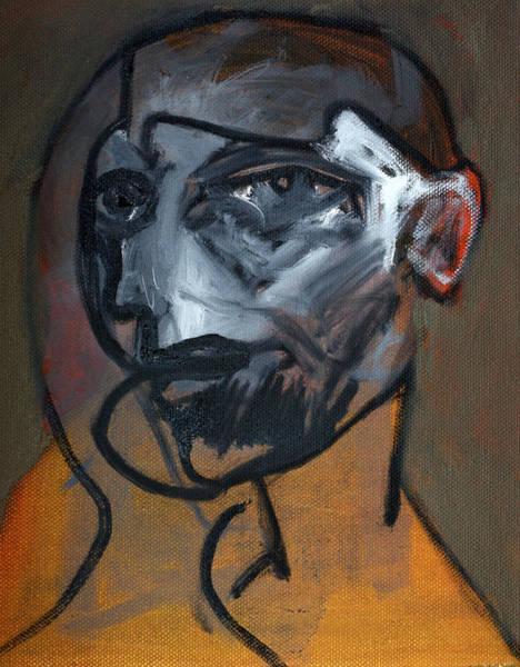 Painting - Deco Portrait by Artist Dot