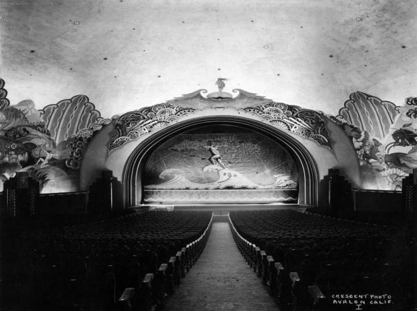 Wall Art - Photograph - Deco Theatre by Henry Guttmann Collection