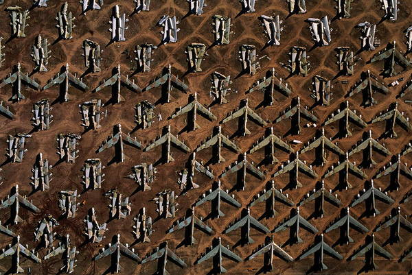 Object Photograph - Decommissioned Boeing B-52 Bombers by Chad Slattery