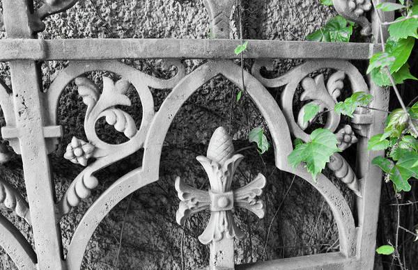 Photograph - Decorative Ironwork IIi by Helen Northcott