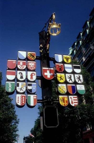 Clear Coat Wall Art - Photograph - Decorative Street Pole In Soho by Stefano Salvetti