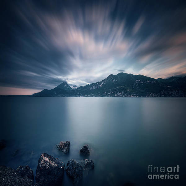 Wall Art - Photograph - Deep Blue Dawn by Evelina Kremsdorf