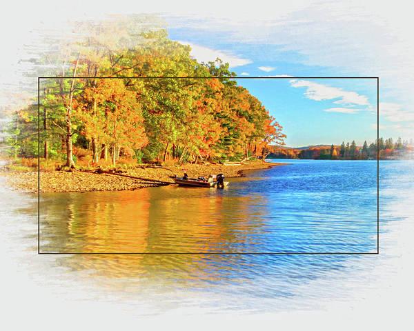 Garrett County Wall Art - Photograph - Deep Creek Lake Fall IIi by Neal Blizzard