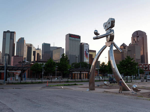 Photograph - Deep Ellum Walking Tall Dallas Texas 062619 by Rospotte Photography