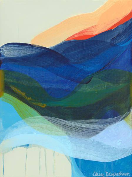 Wall Art - Painting - Deep Sleep Undone by Claire Desjardins