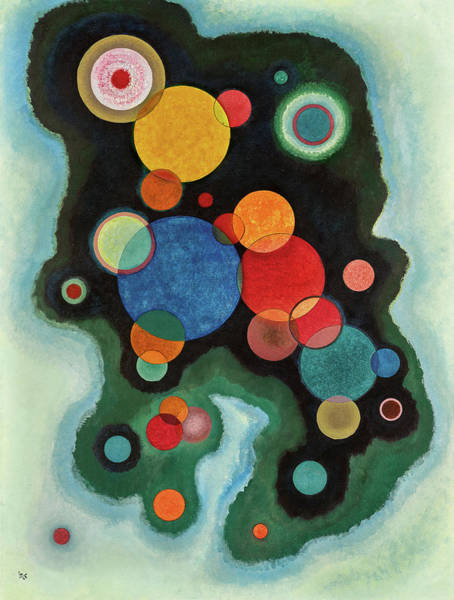 Wall Art - Painting - Deepened Impulse, Vertiefte Regung, 1928 by Wassily Kandinsky