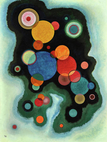 Wall Art - Painting - Deepened Impulse - Vertiefte Regung by Wassily Kandinsky