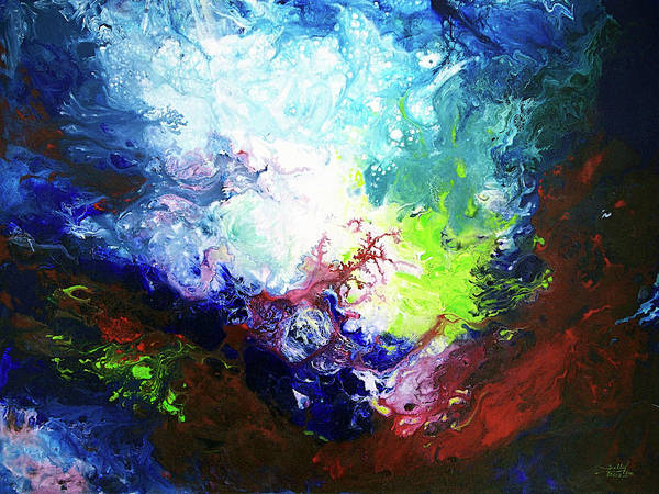 Painting - Deeper Current by Sally Trace