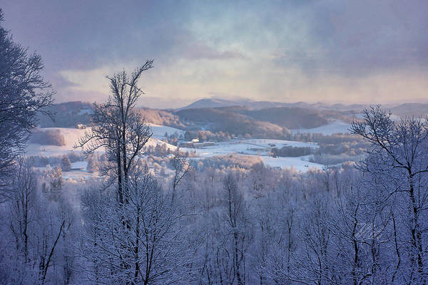 Photograph - Deer Valley Winter View by Meta Gatschenberger