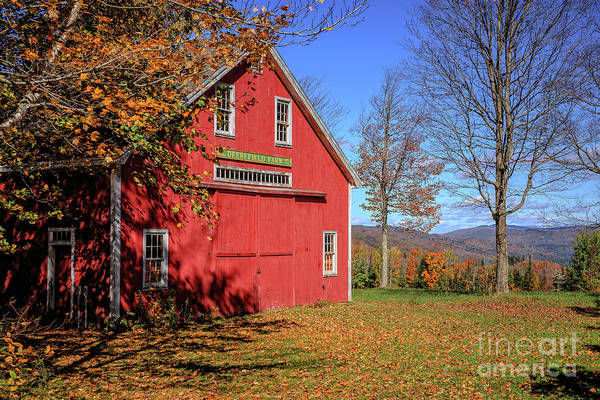 Wall Art - Photograph - Deerefield Farm Grafton New Hampshire by Edward Fielding