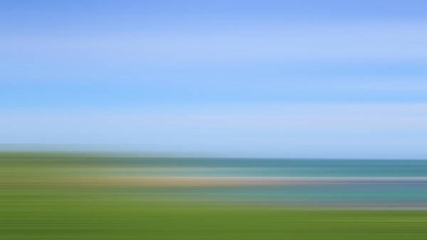 Copy Photograph - Defocused View Of Ocean by Studio Parris Wakefield