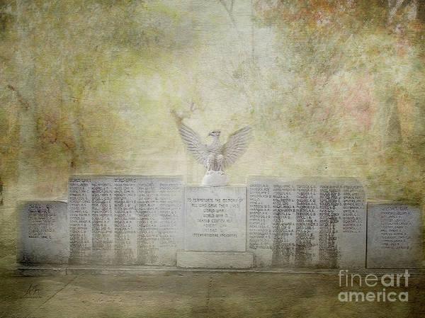 Dekalb County Alabama War Memorial Art Print
