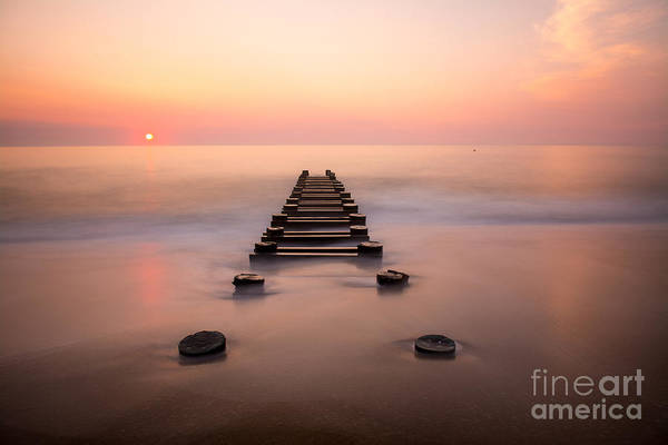 Wall Art - Photograph - Delaware Beach Sunrise by Brandon Hirt