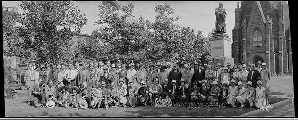 Wall Art - Photograph - Delegates To Luther League Of America by Fred Schutz Collection