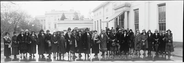 Equal Rights Photograph - Delegation Of Working Women by Fred Schutz Collection