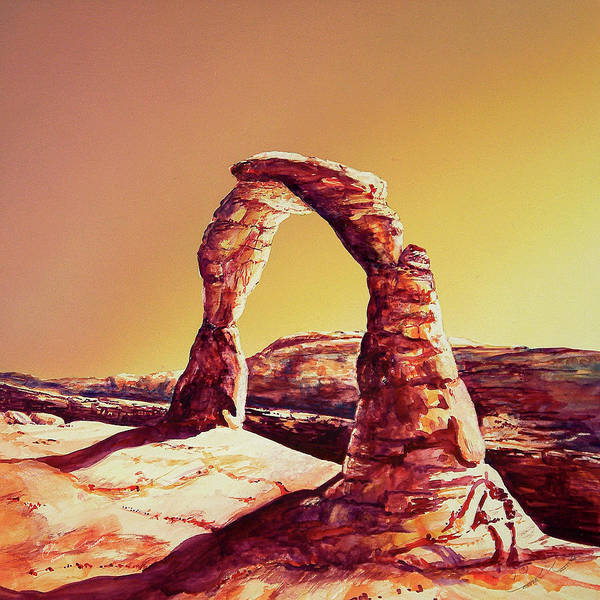 Painting - Delicate Arch by Connie Williams