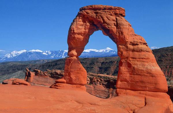 Natural Arch Photograph - Delicate Arch by Jean-pierre Lescourret