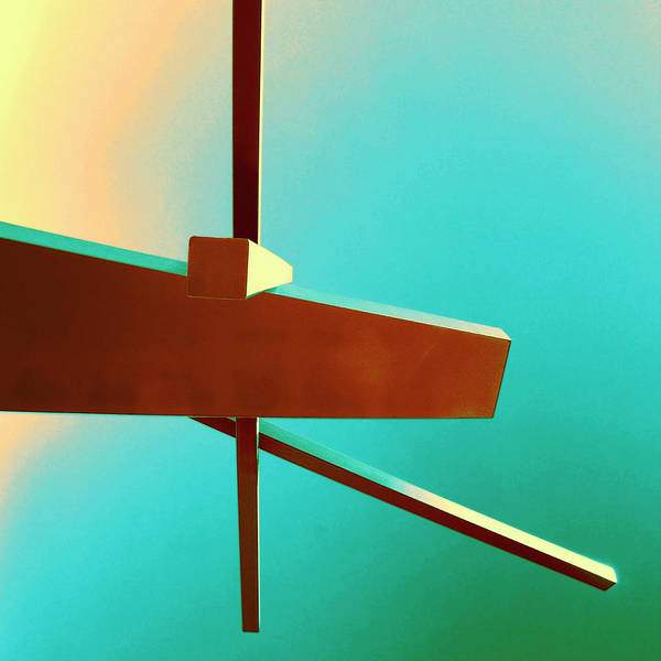 Wall Art - Photograph - Delicate Balance Rise Of Abstraction by William Dey