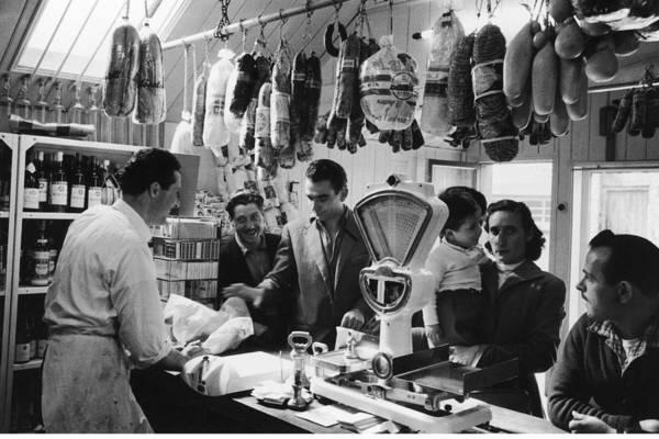 Delicatessen Photograph - Delicatessen by Bert Hardy