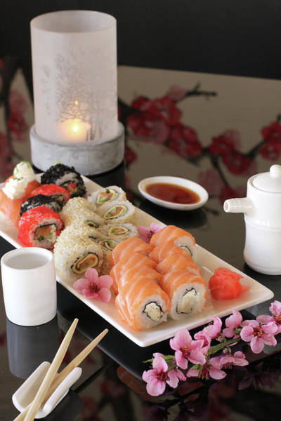 Seafood Photograph - Delicious Sushi by Komisar