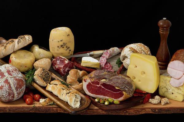 Delicatessen Photograph - Delicious Typical Argentinean Antipasto by Ruizluquepaz