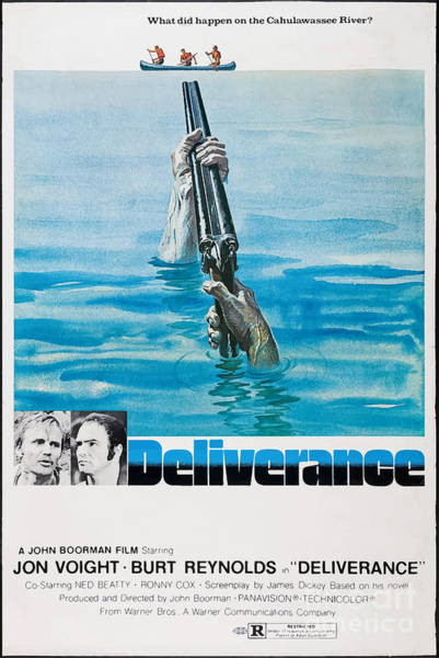 1972 Mixed Media - Deliverance  1972 - What Did Happen On The Cahulawassee River? by Kultur Arts
