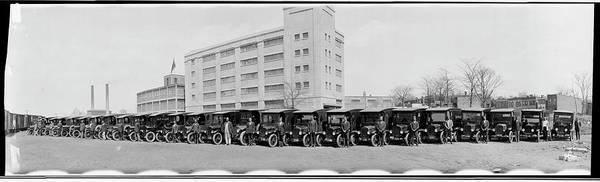 Wall Art - Photograph - Delivery Trucks For The Washington by Fred Schutz Collection