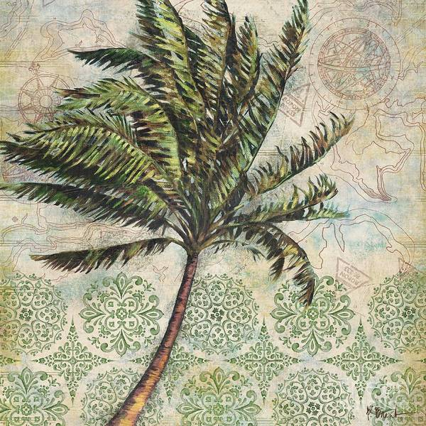 Wall Art - Painting - Delray Palm I by Paul Brent