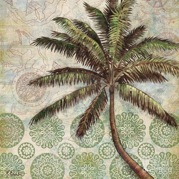 Wall Art - Painting - Delray Palm II by Paul Brent