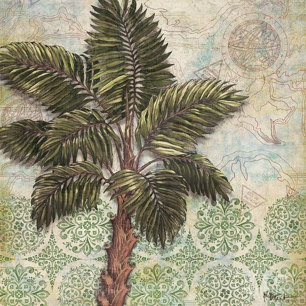 Wall Art - Painting - Delray Palm IIi by Paul Brent