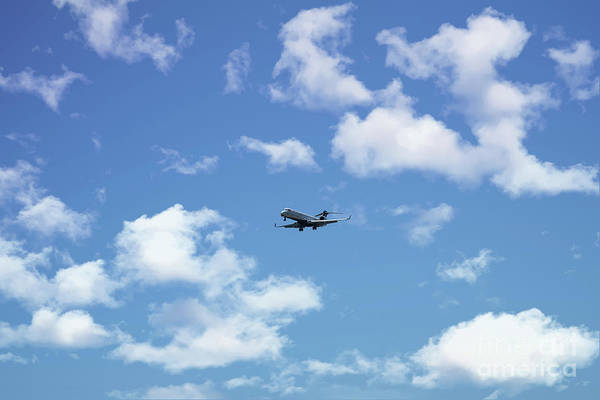 Photograph - Delta Jet Heading To Charleston International Airport by Dale Powell