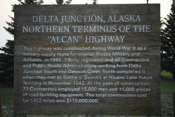 Photograph - Delta Junction Alaska 3058 by Ericamaxine Price