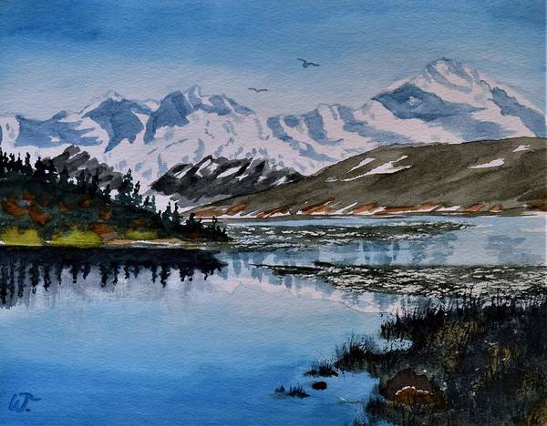 Wall Art - Painting - Denali Majesty by Warren Thompson