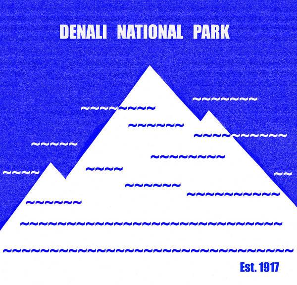 Wall Art - Mixed Media - Denali N. P. M Series by David Lee Thompson