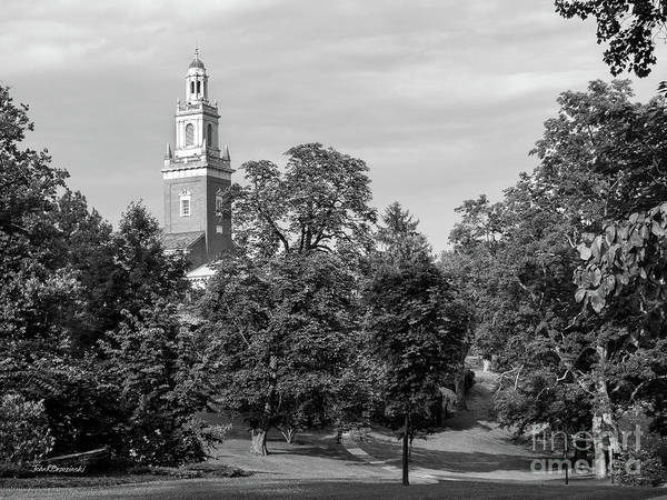 Photograph - Denison University Swasey Chapel From Academic Quad by University Icons
