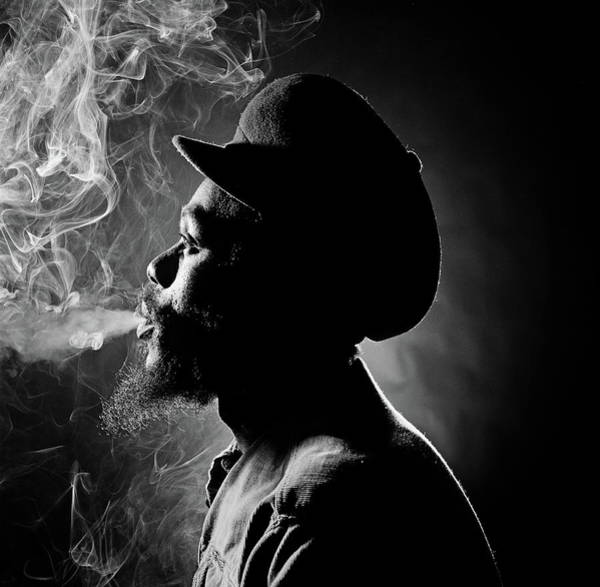 Photograph - Dennis Brown by Fin Costello