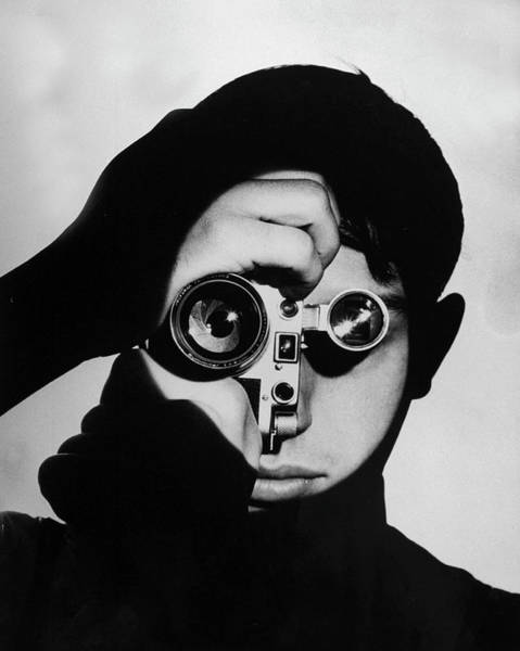 Photograph - Dennis Stock by Andreas Feininger