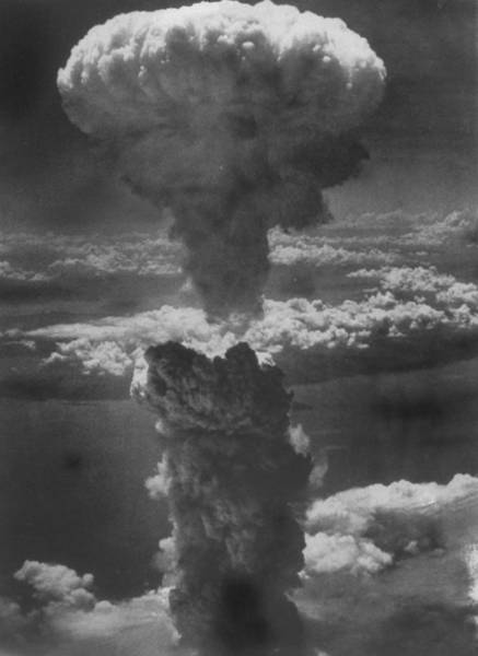 Superfortress Photograph - Dense Column Of Smoke Capped By Mushroom by Time Life Pictures