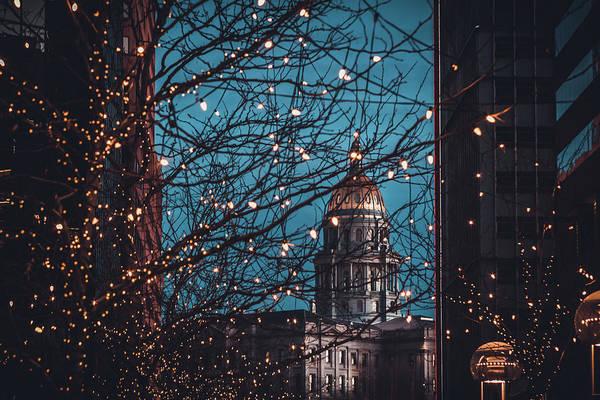 Photograph - Denver, Colorado Capitol Building by Jeanette Fellows