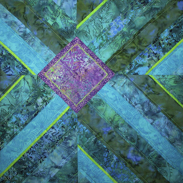 Tapestry - Textile - Depth by Pam Geisel